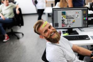 Employer Branding - Glückliche Mitarbeiter