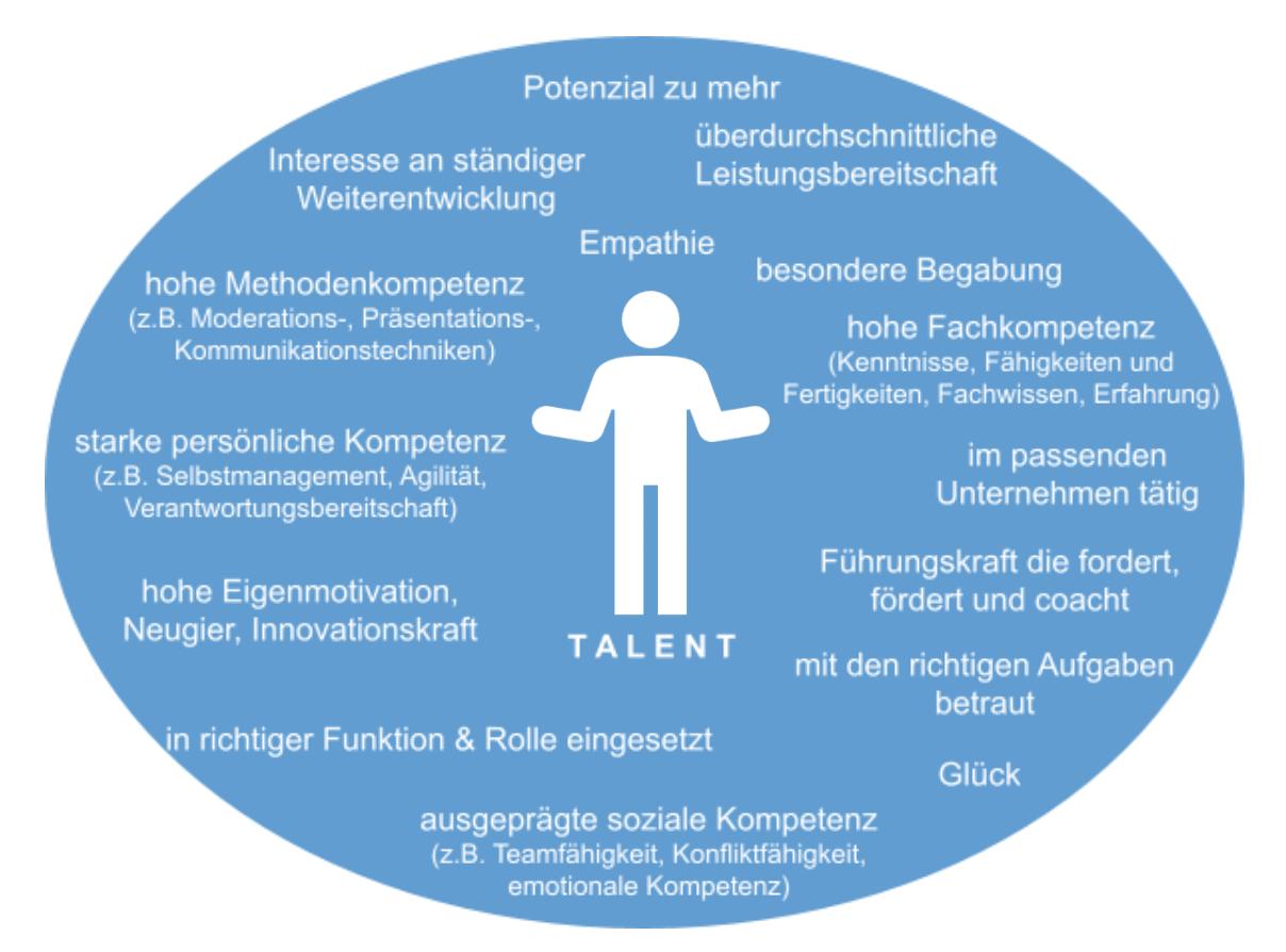 Talent Entwicklung Definitionen